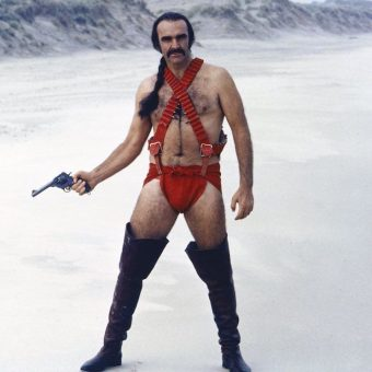 Sean Connery In Zardoz (1974)