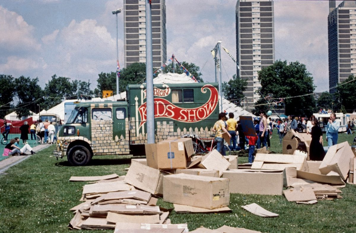 Hackney London in the 1970s and 1980s