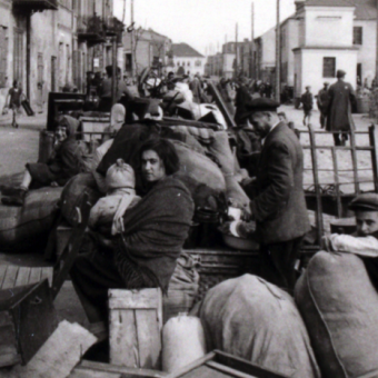 A German Soldier's Photographs of Jews Forced Into A Ghetto in Poland