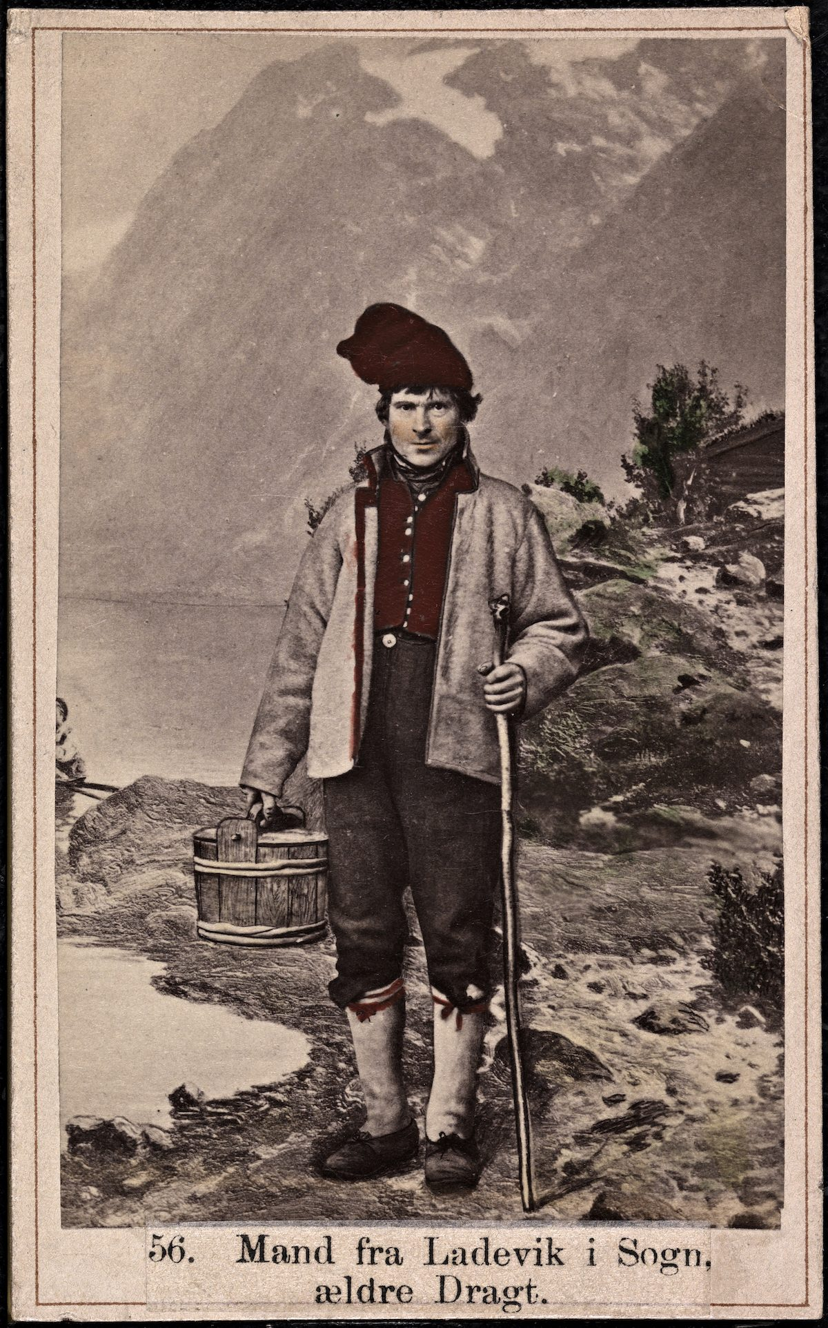 people of norway portraits by Macus Selmer 19th century