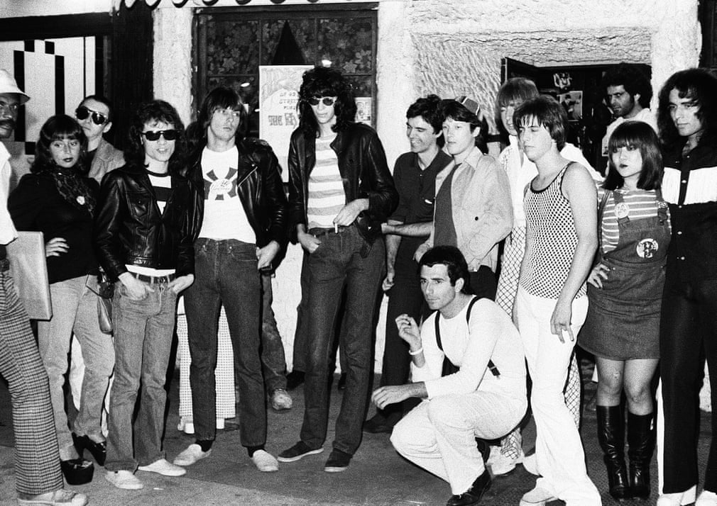 Outside CBGB, 1975 Photograph- Paul Zone