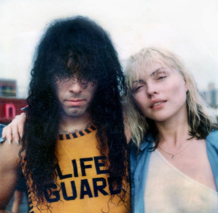 Paul Zone and Debbie Harry, Coney Island, 1977 Photograph- Chris Stein