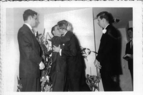 Gay wedding Philadelphia 1957