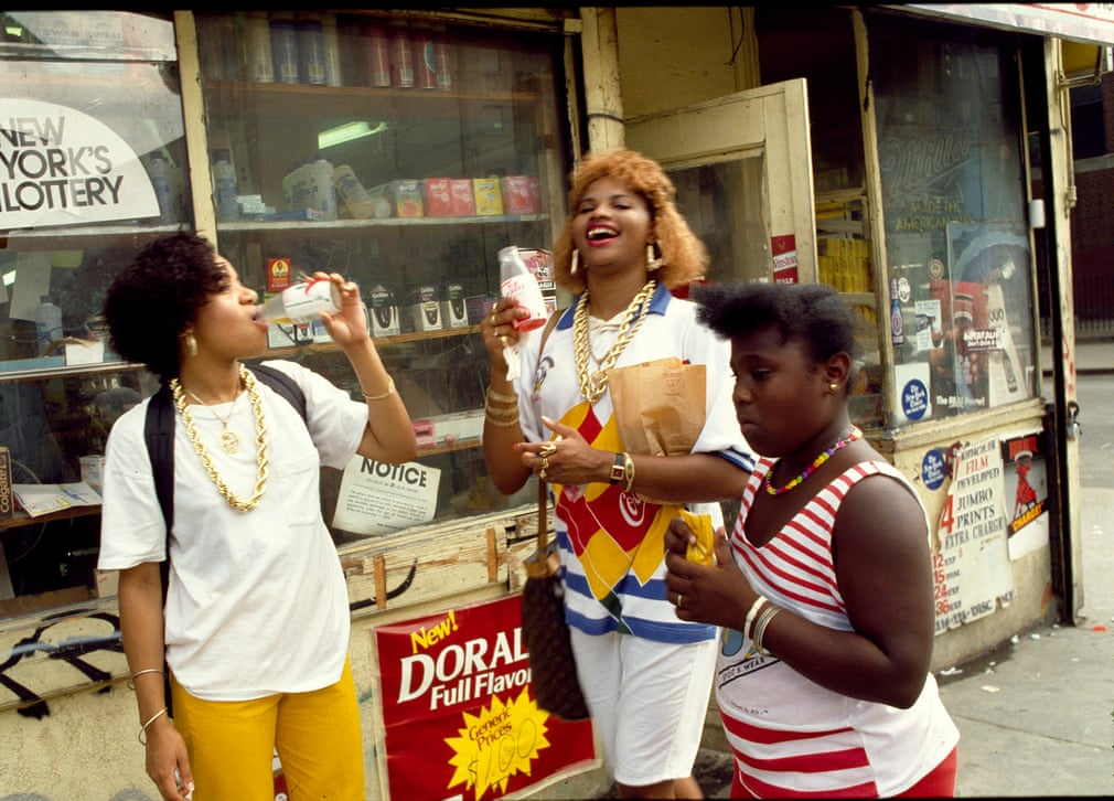 Salt n Pepa in the Lower East Side of New York City, 1986 Photograph- Janette Beckman