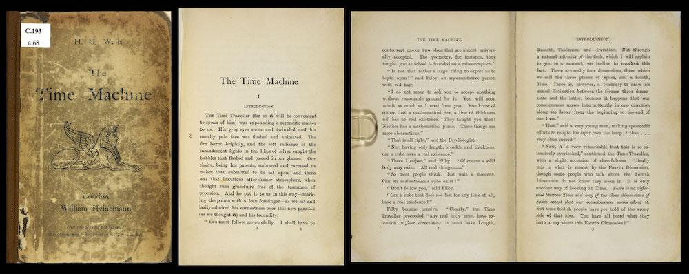 HG wells the time machine book