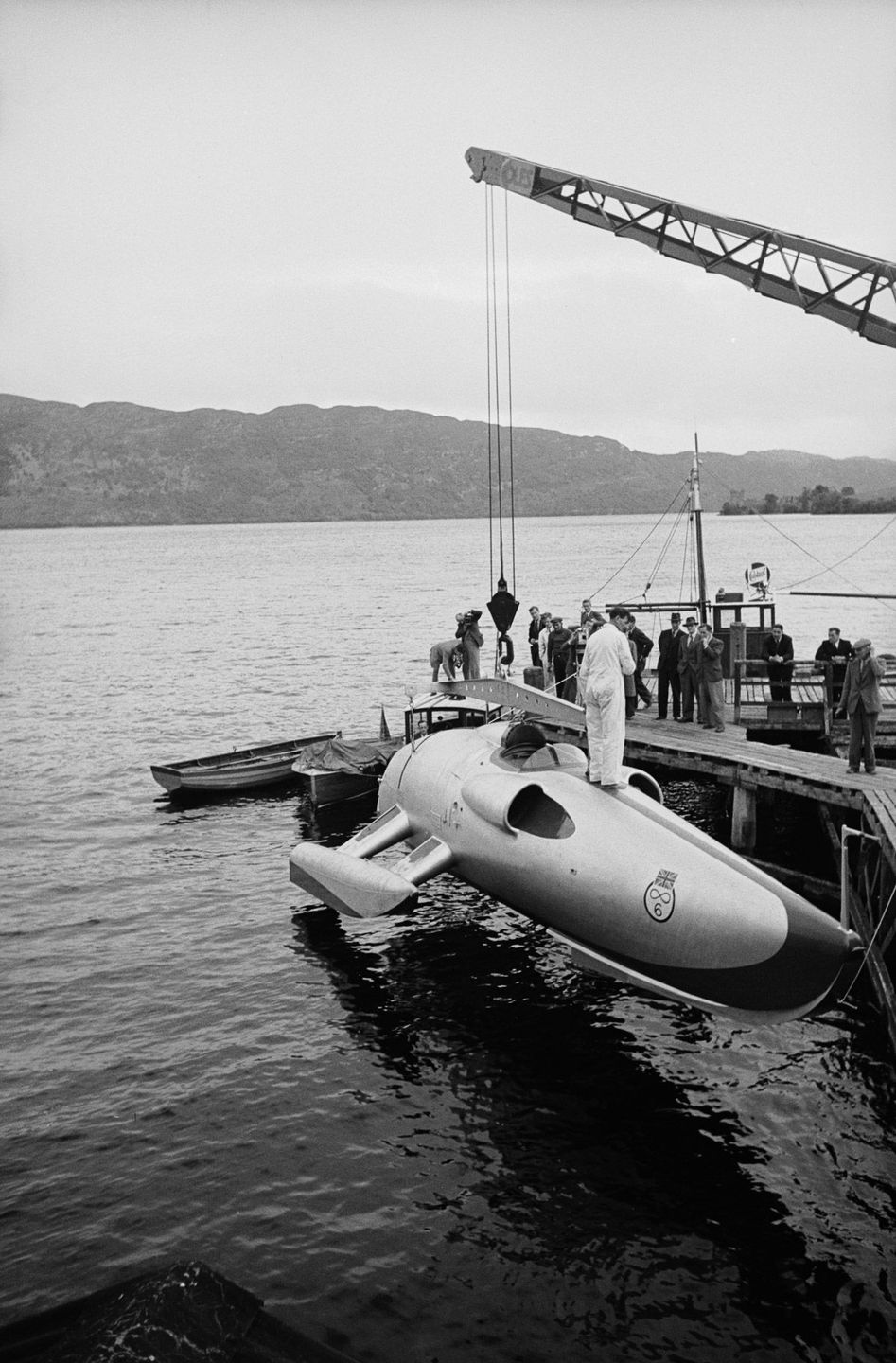 Crusader Loch Ness Scotland John Cobb speed 1952