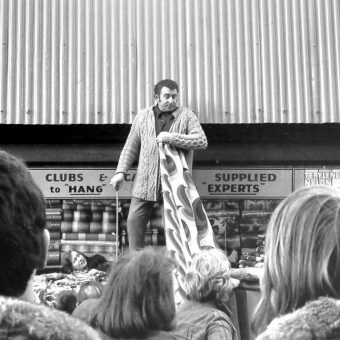 Shopping  at Glasgow's The Barras Market In 1975