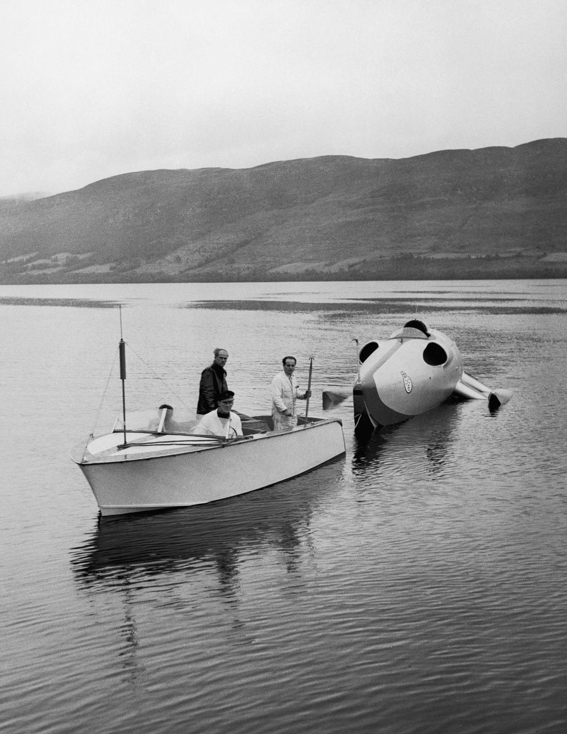 Crusader Loch Ness John Cobb speed 1952
