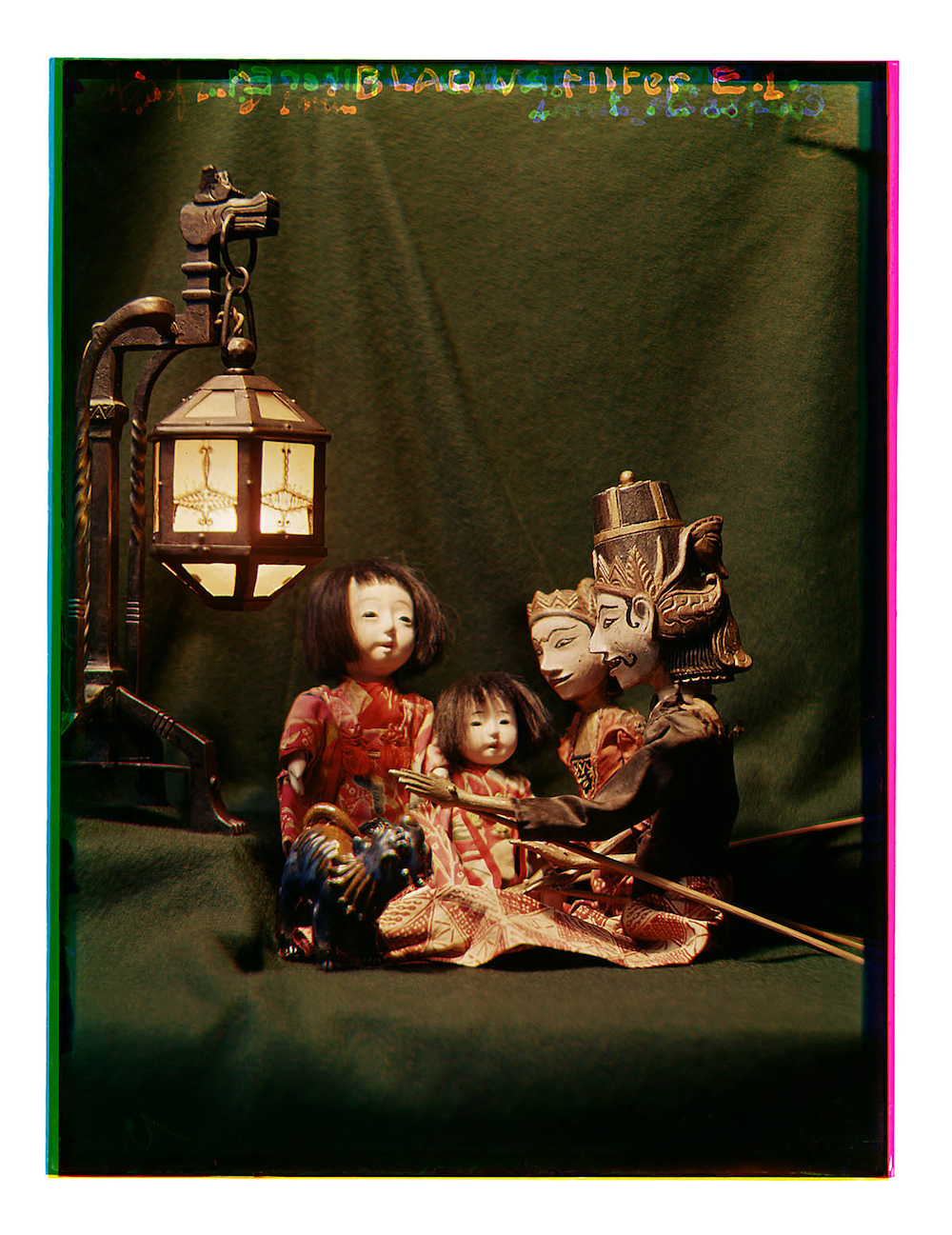Bernard Eilers, still life, lamp, dolls, photography