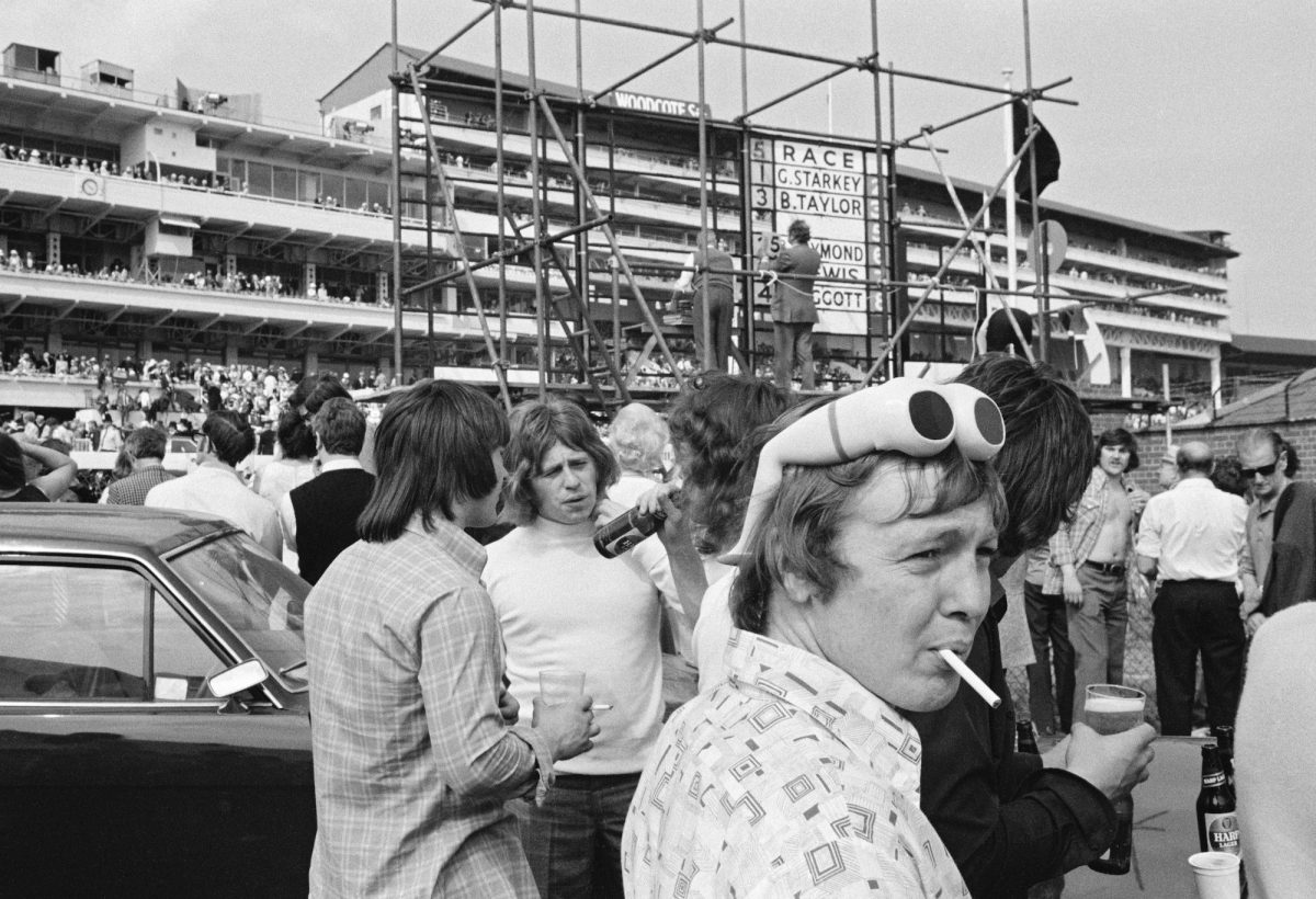 The Derby. Epsom, Surrey, July 1974.