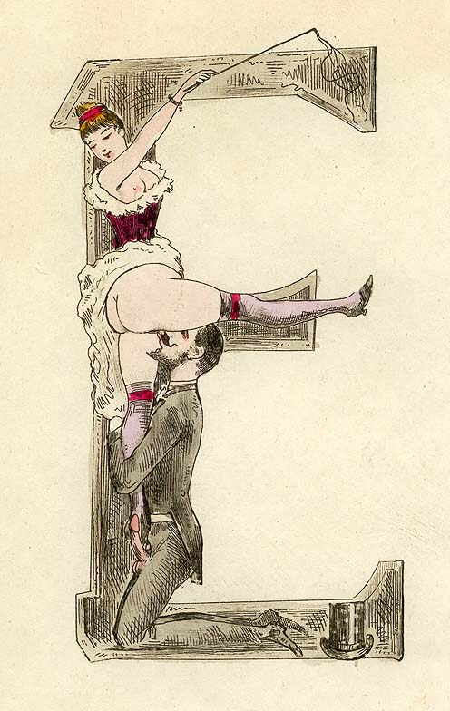 Erotic alphabet 19th Century