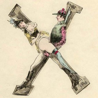 The Erotic Alphabet of 1880 – All 26 Letters