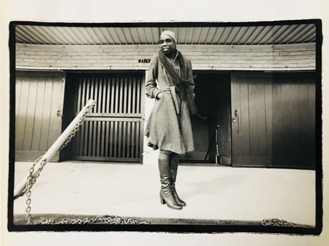 Ola Hudson in the 1970s. Photo: Ola Hudson Archive, courtesy Ash Hudson. No reproduction without permission.