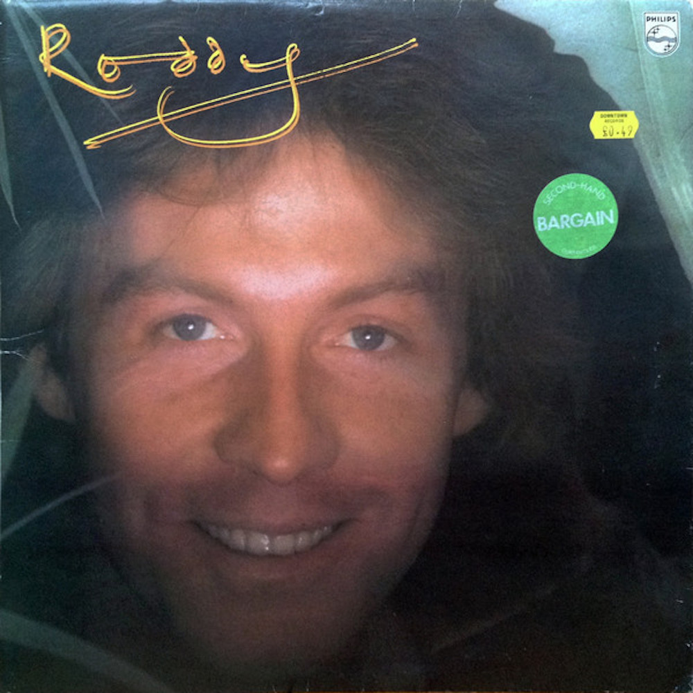Roddy Llewellyn's solo album, released October 1978. Photo: discogs.com