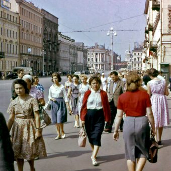 'A City of Half-Crazy People' – Photographs of Leningrad (St Petersburg) in 1961