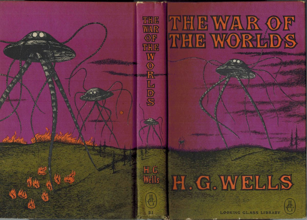 WAR OF THE WORLDS GOREY COVER