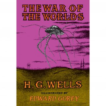 Edward Gorey Illustrates War of The Worlds (1960)