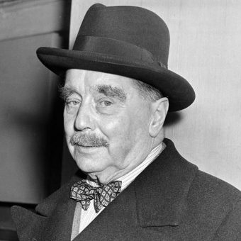 H. G. Wells On A Bike or Time Travelling and 'The Time Machine'