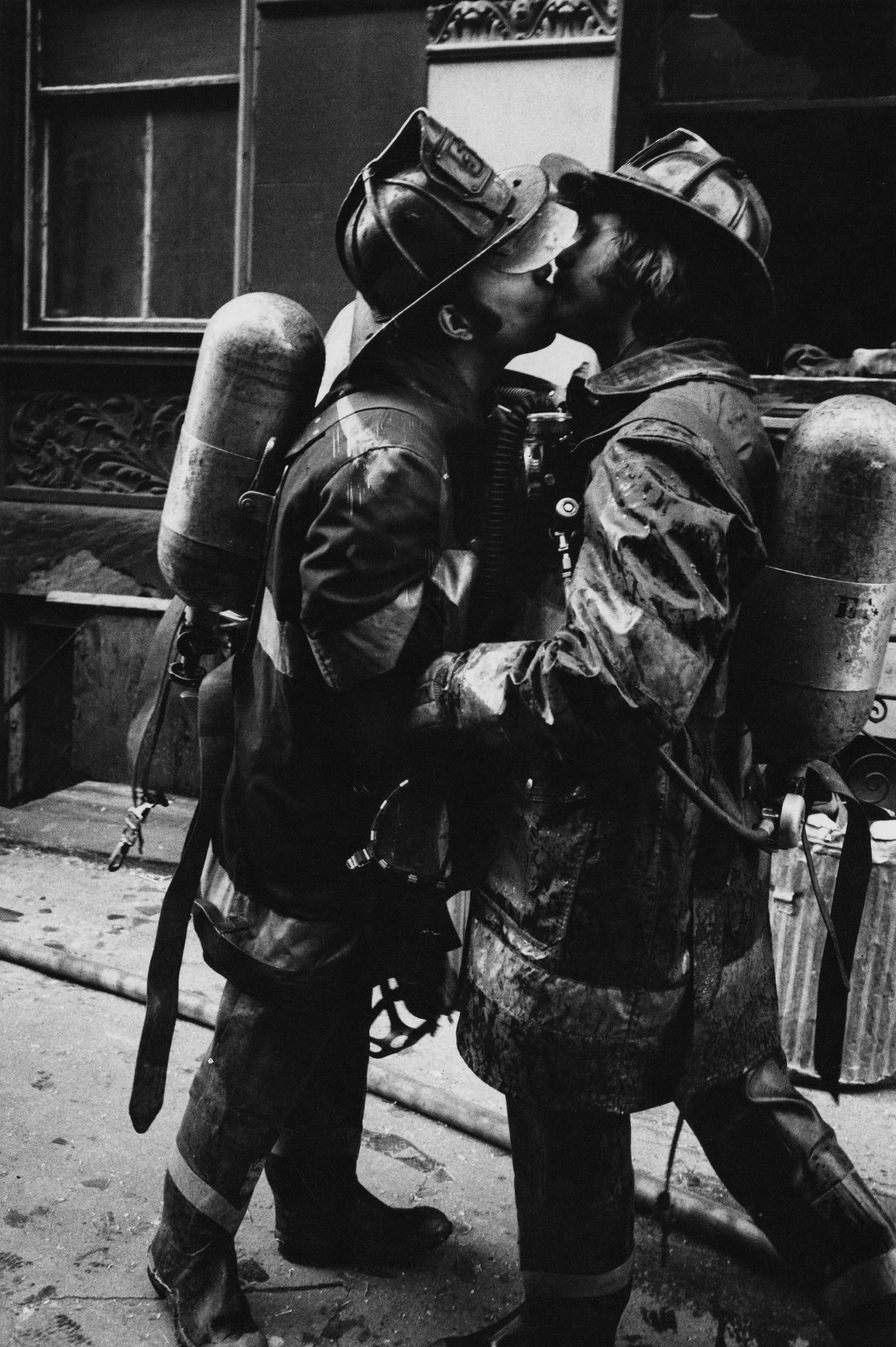"""Five-Alarm Fire,"" 1976CreditJill Freedman:Steven Kasher Gallery"