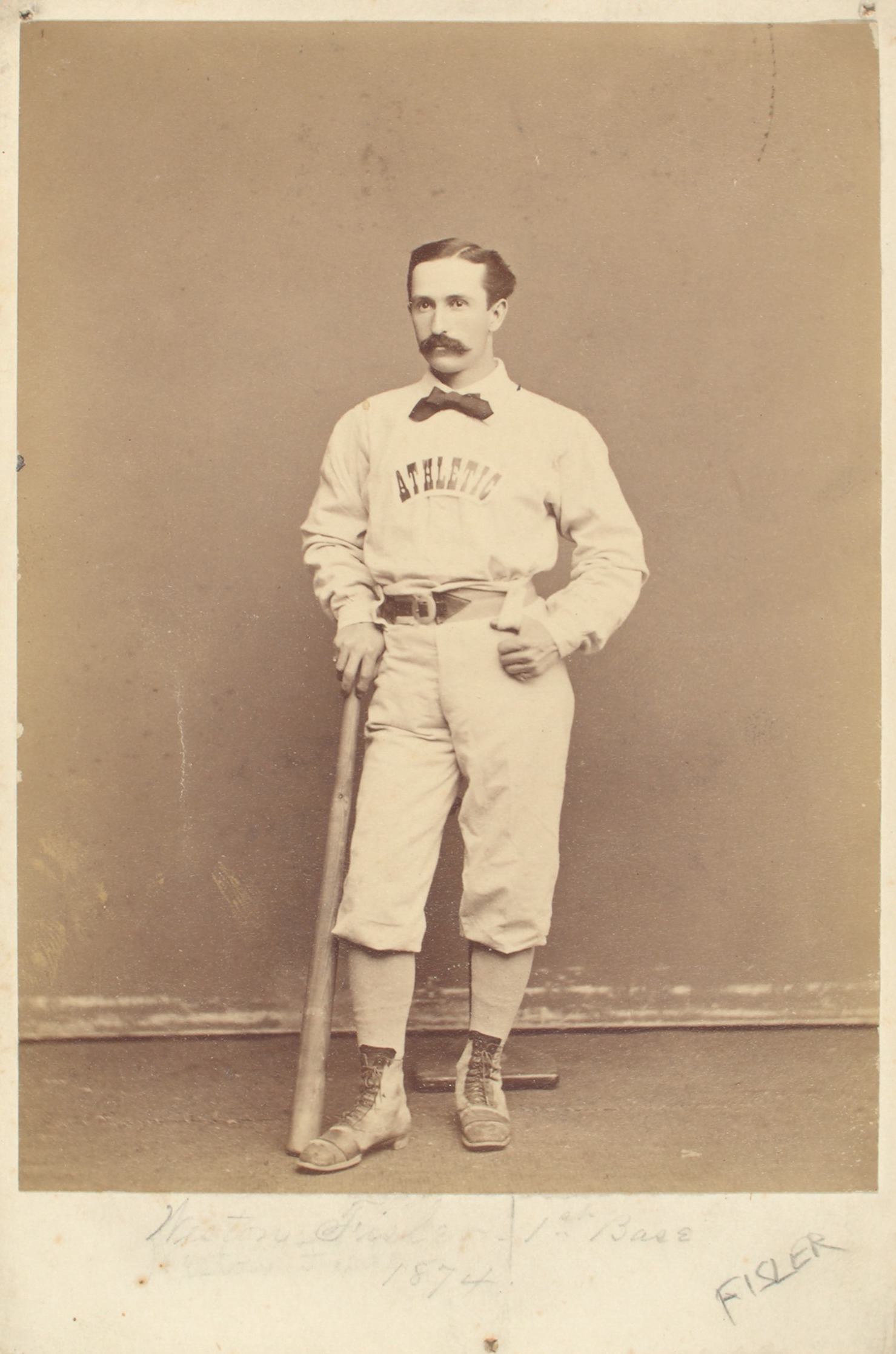 Tommy Beals, 1874 Change 2nd base