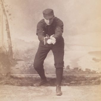 Portraits of 19th Century Baseball Players (Boston ca. 1890)