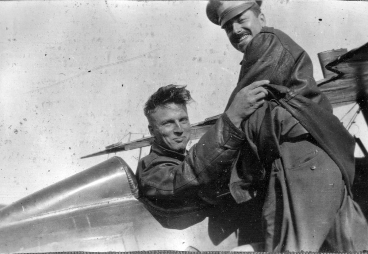World War  US pilots selfies photos 1917 texas kelly field
