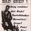 Bad Seed : The Kicking 1980s Juvenile Delinquency Zine and T-Shirt