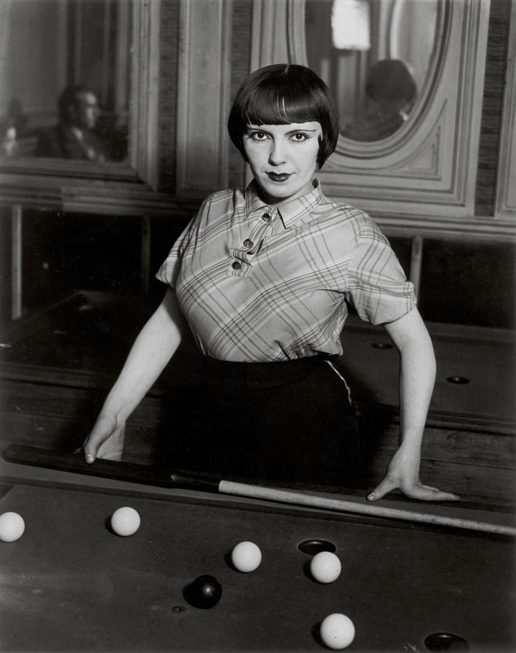 Billiard player, Boulevard Rochechouart, 1932-33