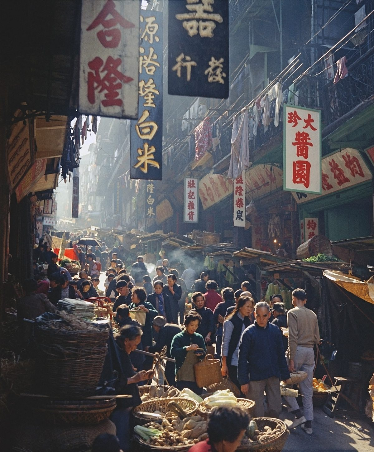 Sublime Street Photographs of Hong Kong in the 1950s and 1960s