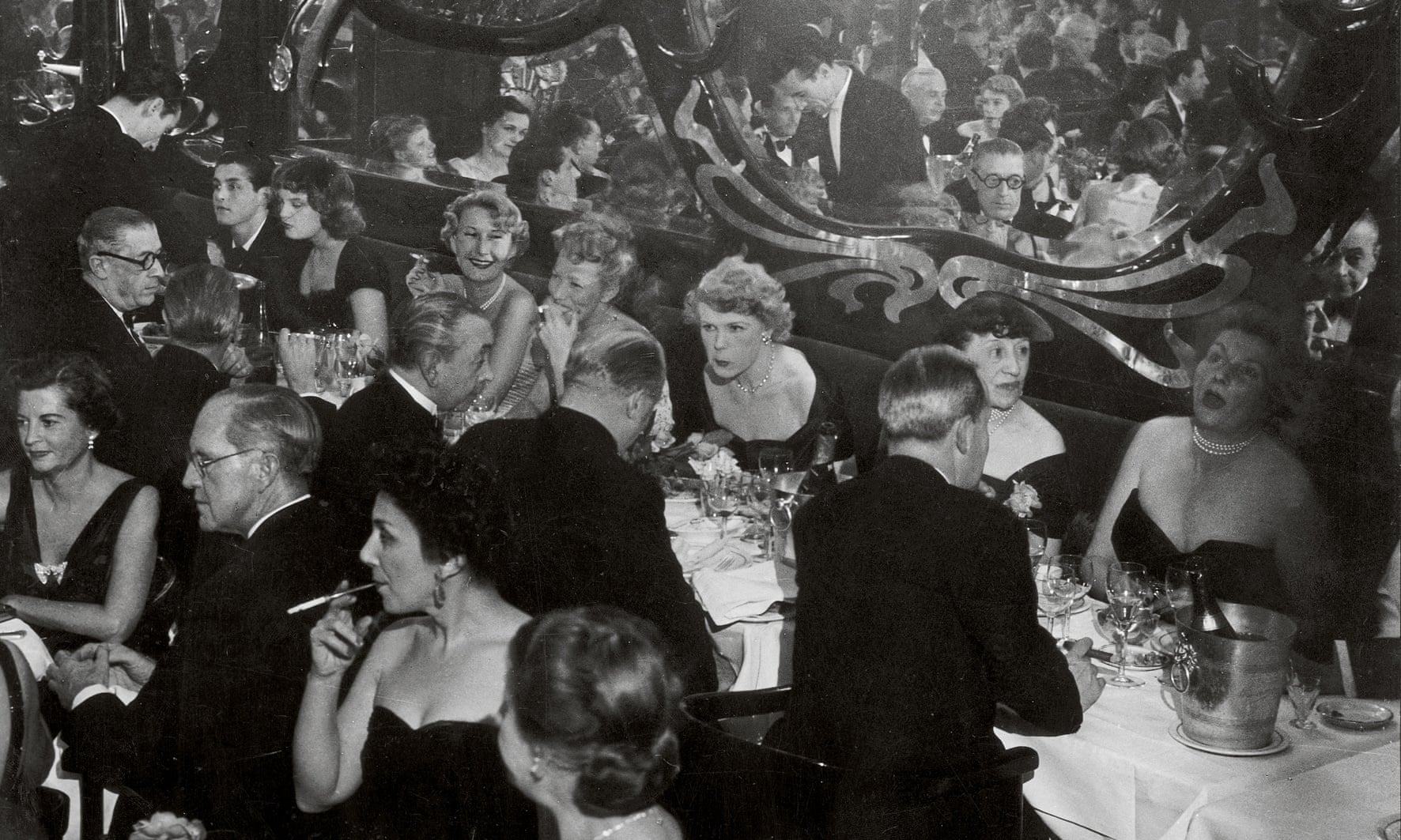 Gala soiree at Maxim's, 1949. Photograph- Estate Brassaï Succession