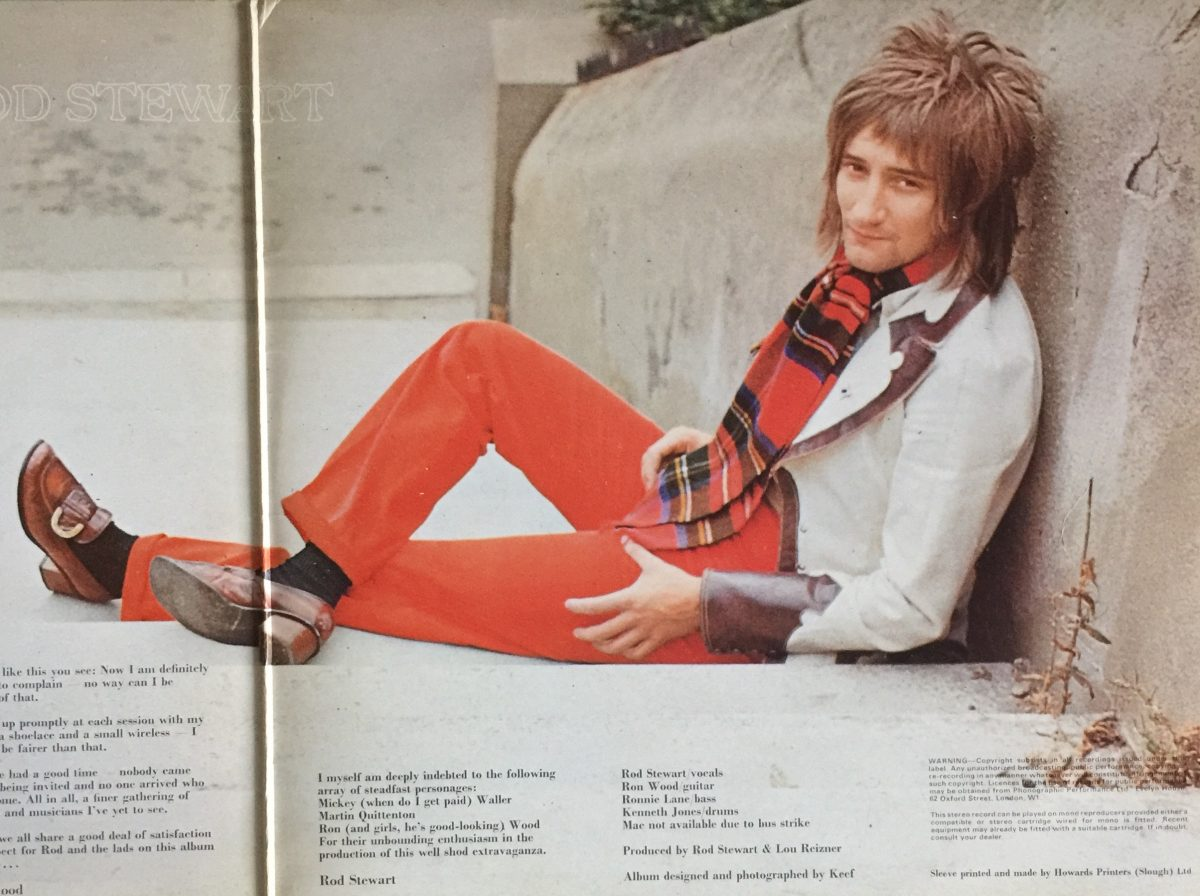 Rod Stewart : The Third Gasoline Alley Jacket - Flashbak