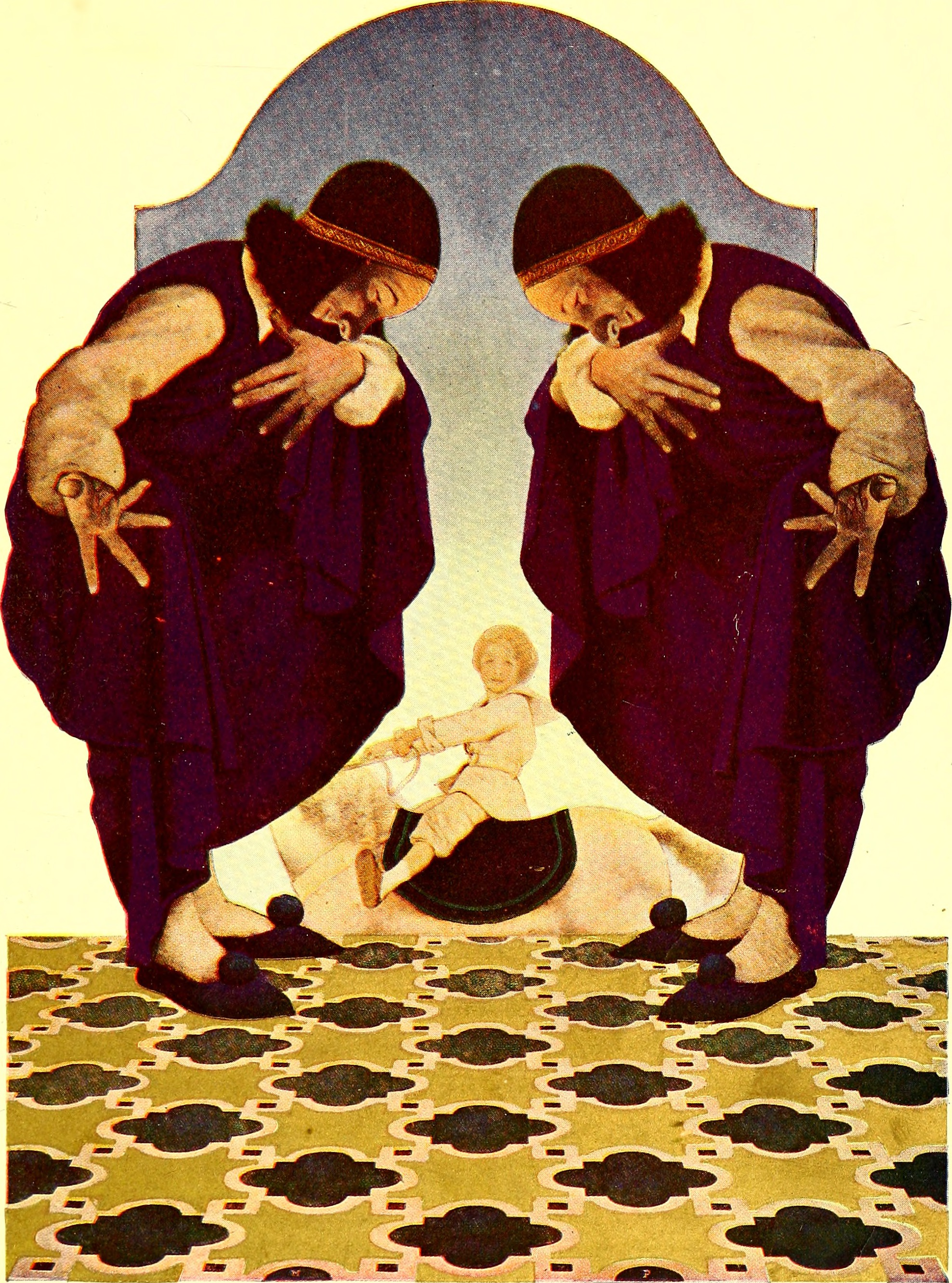 Illustrations from Poems of Childhood (1904) by Eugene Field with illustrations by Maxfield Parrish