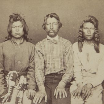 Portraits of Captured Native Americans After The Modoc War