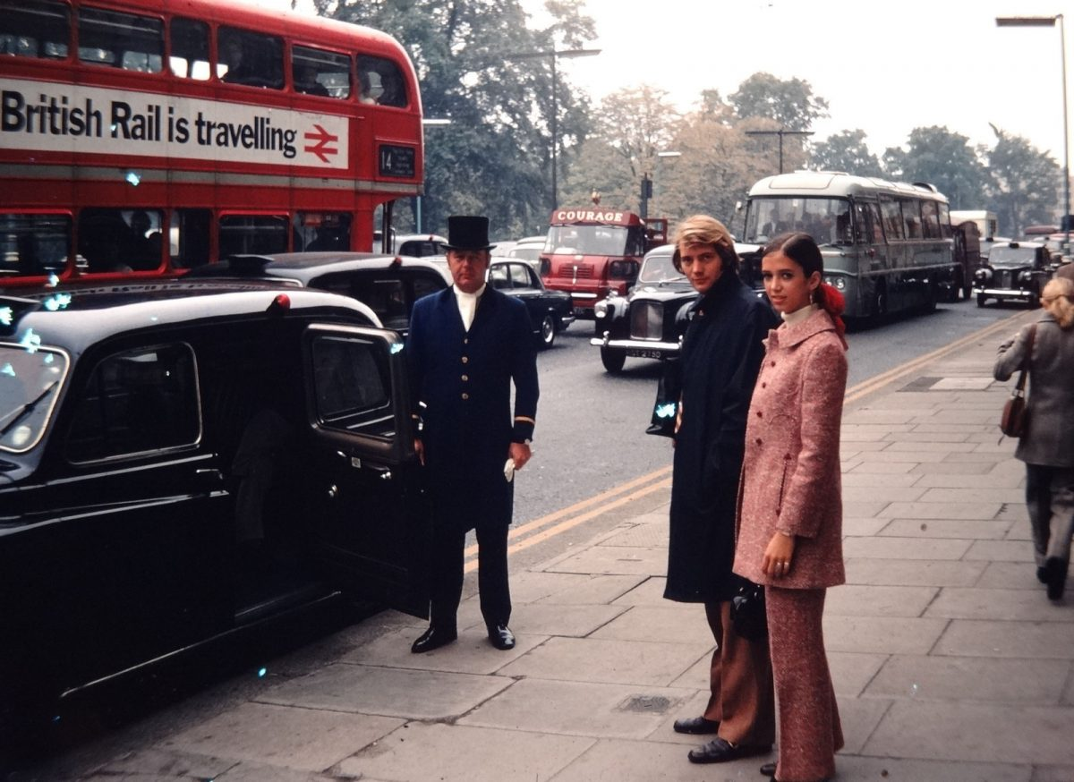 Kodachrome 1960s London