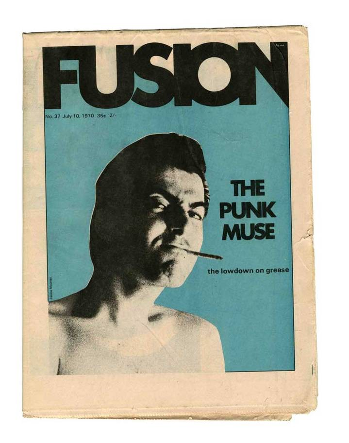 """The Punk Muse"", 1970 (Source: Fusion/The Independent)"