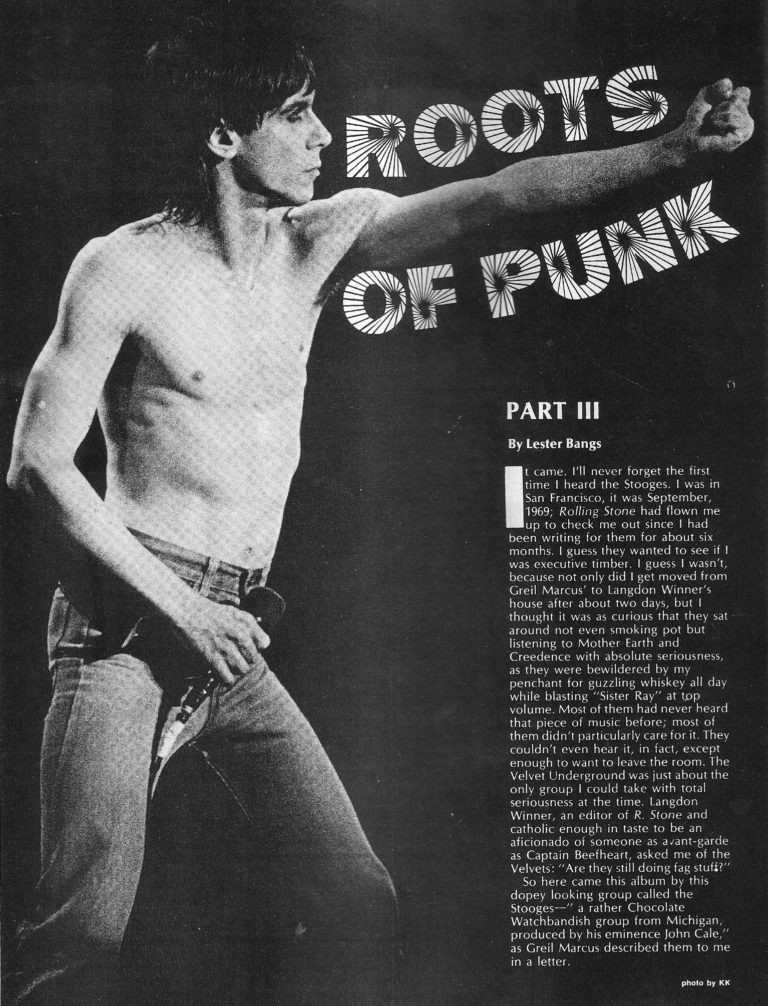 The Roots of Punk, Part III, New Wave Rock magazine, 1979 (Source: Keep It Dirty)
