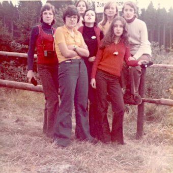 Snapshots From A School Trip To The Inner German Border in 1972