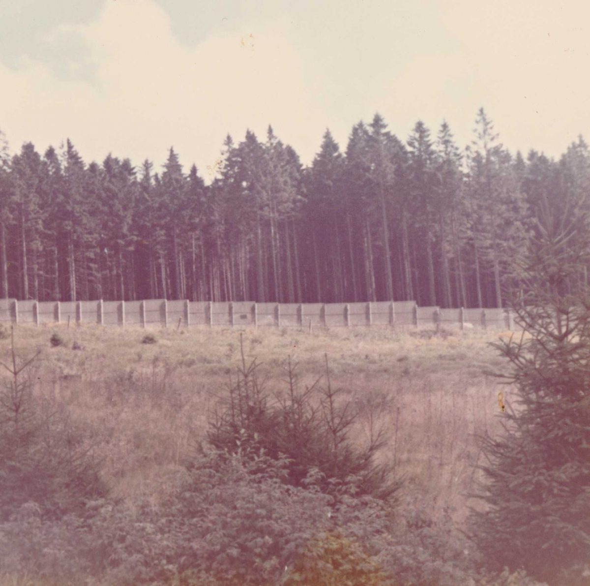 Visiting the inner German border in 1972