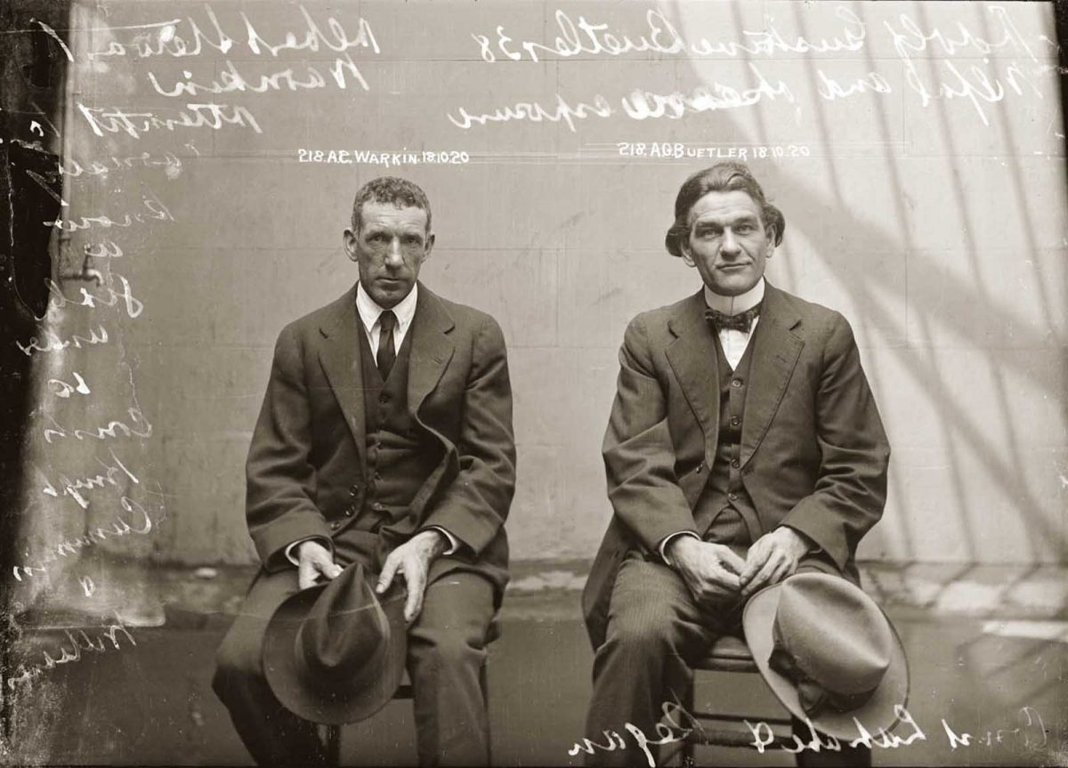 stylish Australia mugshots dapper 1920