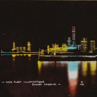 Sydney Illuminations (1908 -1925) – Australia Welcomes the United States Great White Fleet in a Blaze of Lights