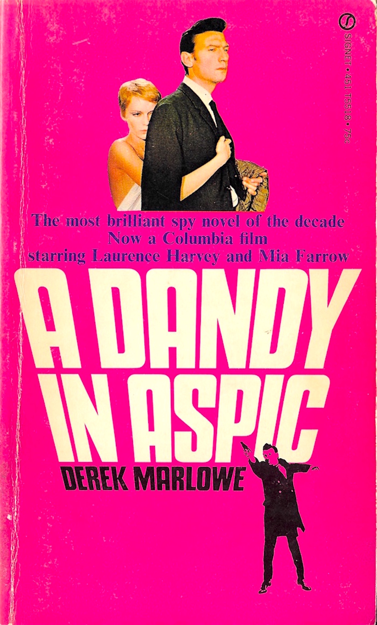 A Dandy in aspic, book, Derek Marlowe