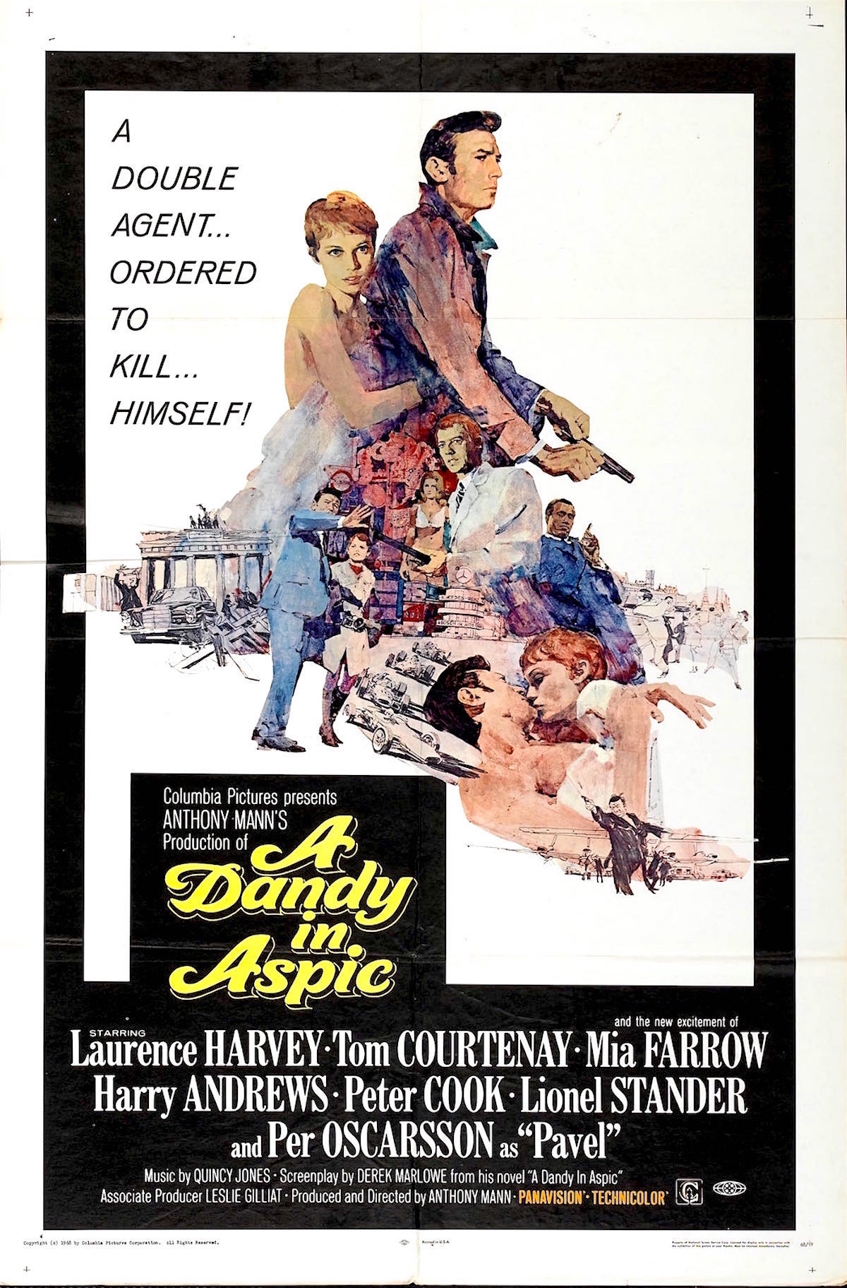 A Dandy in Aspic, Derek Marlowe, Anthony Mann