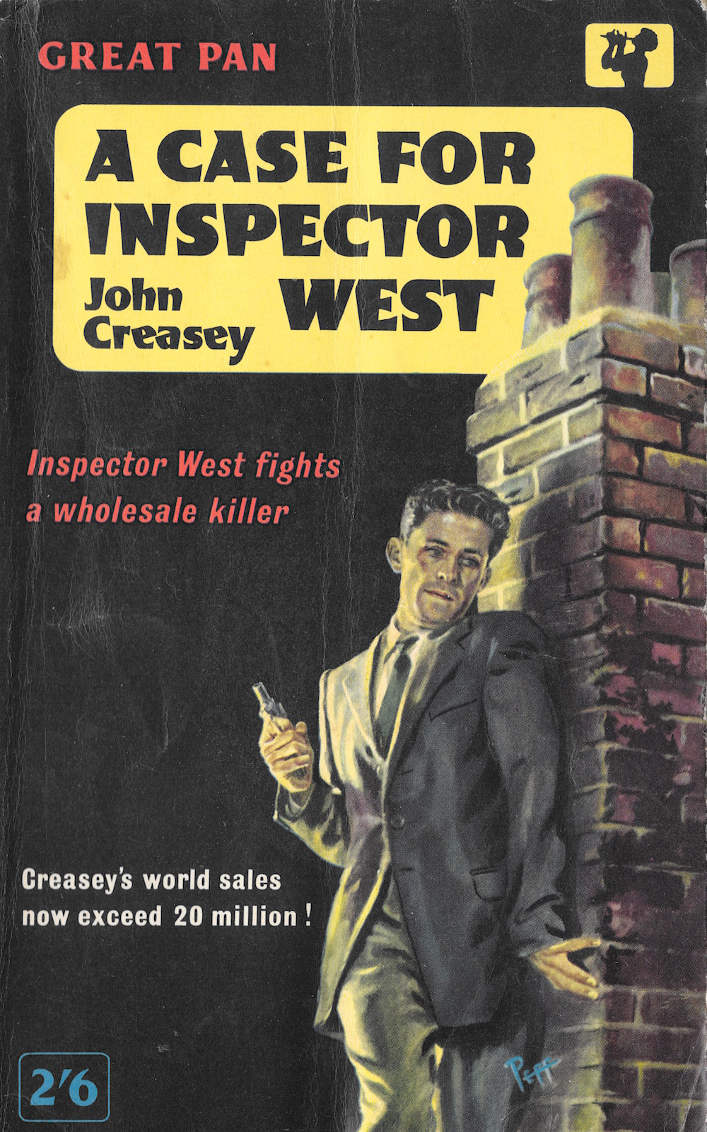 John Creasey, crime, books