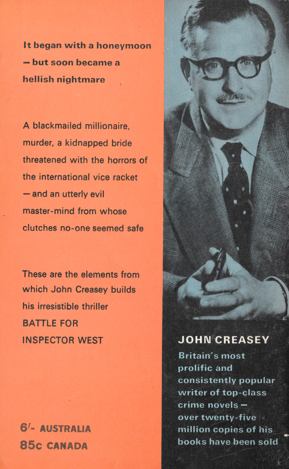 John Creasey, crime, books, writers
