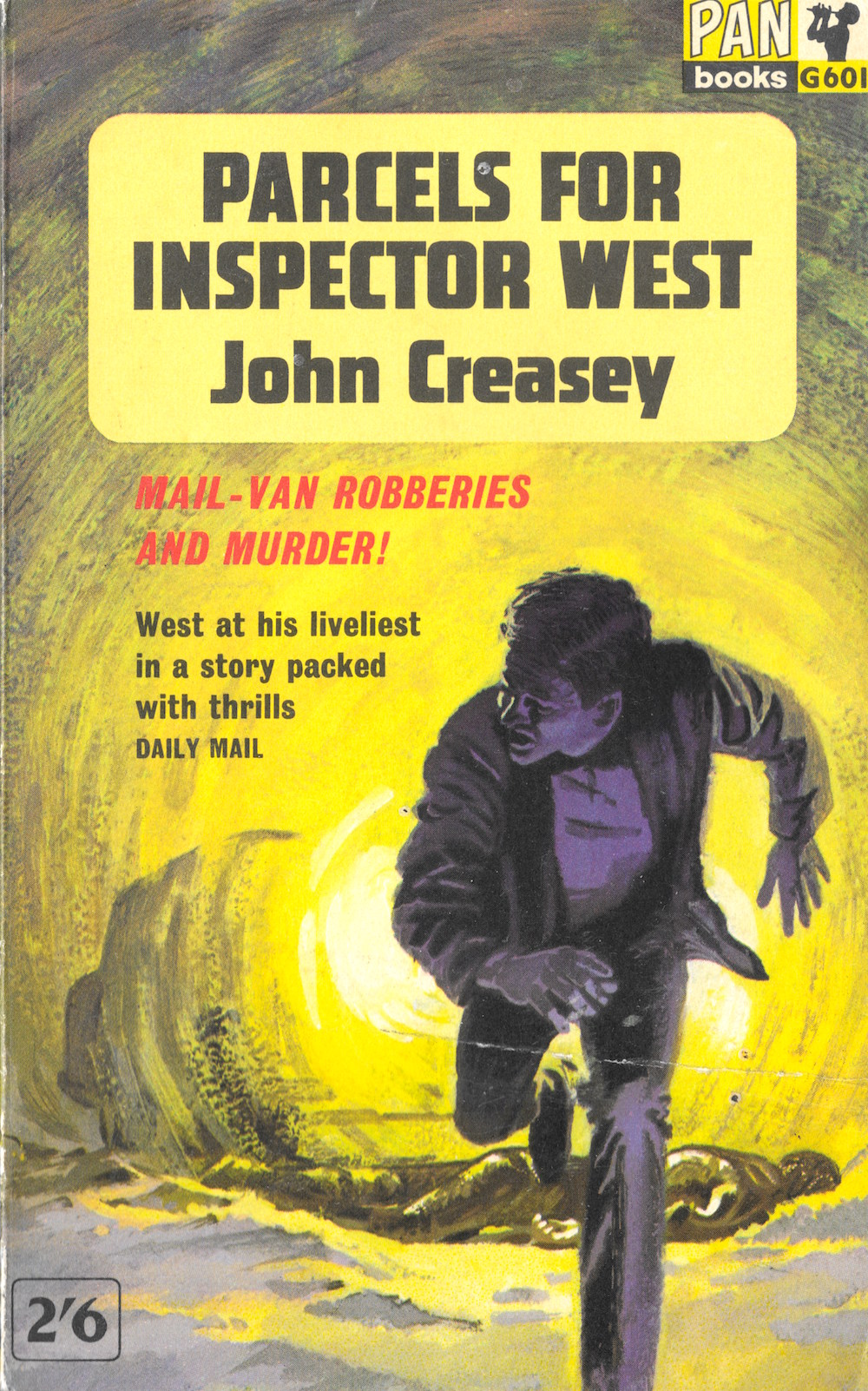 John Creasey, Inspector West, crime, books