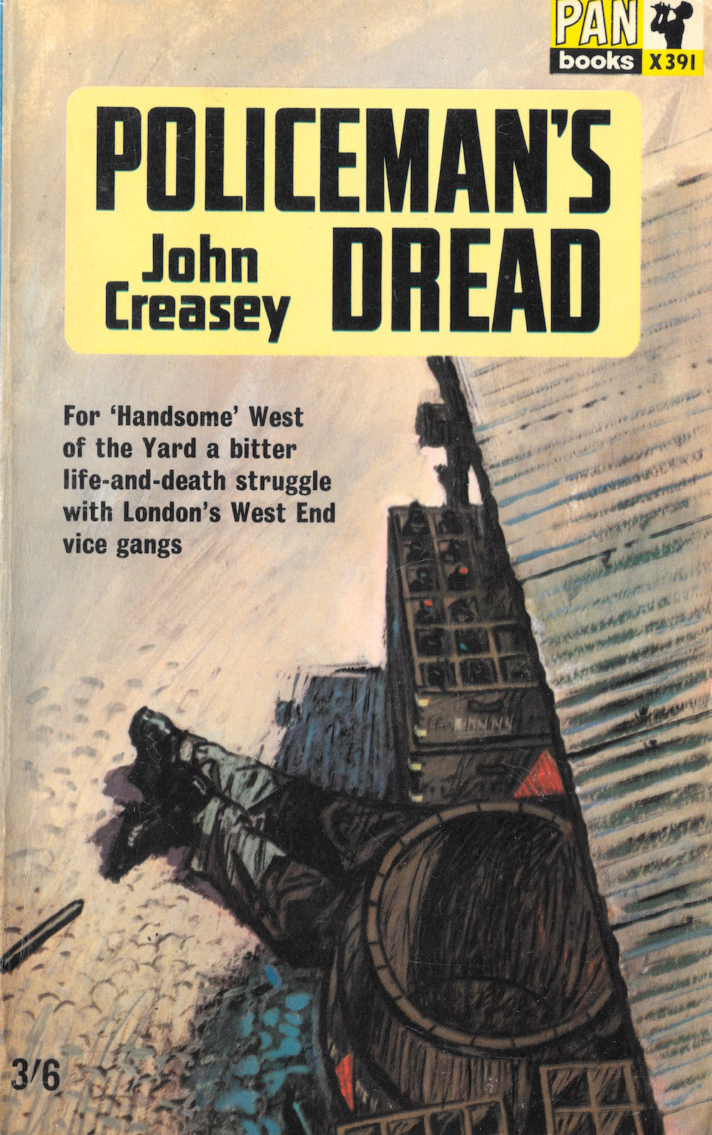John Creasey, crime, books, Inspector West