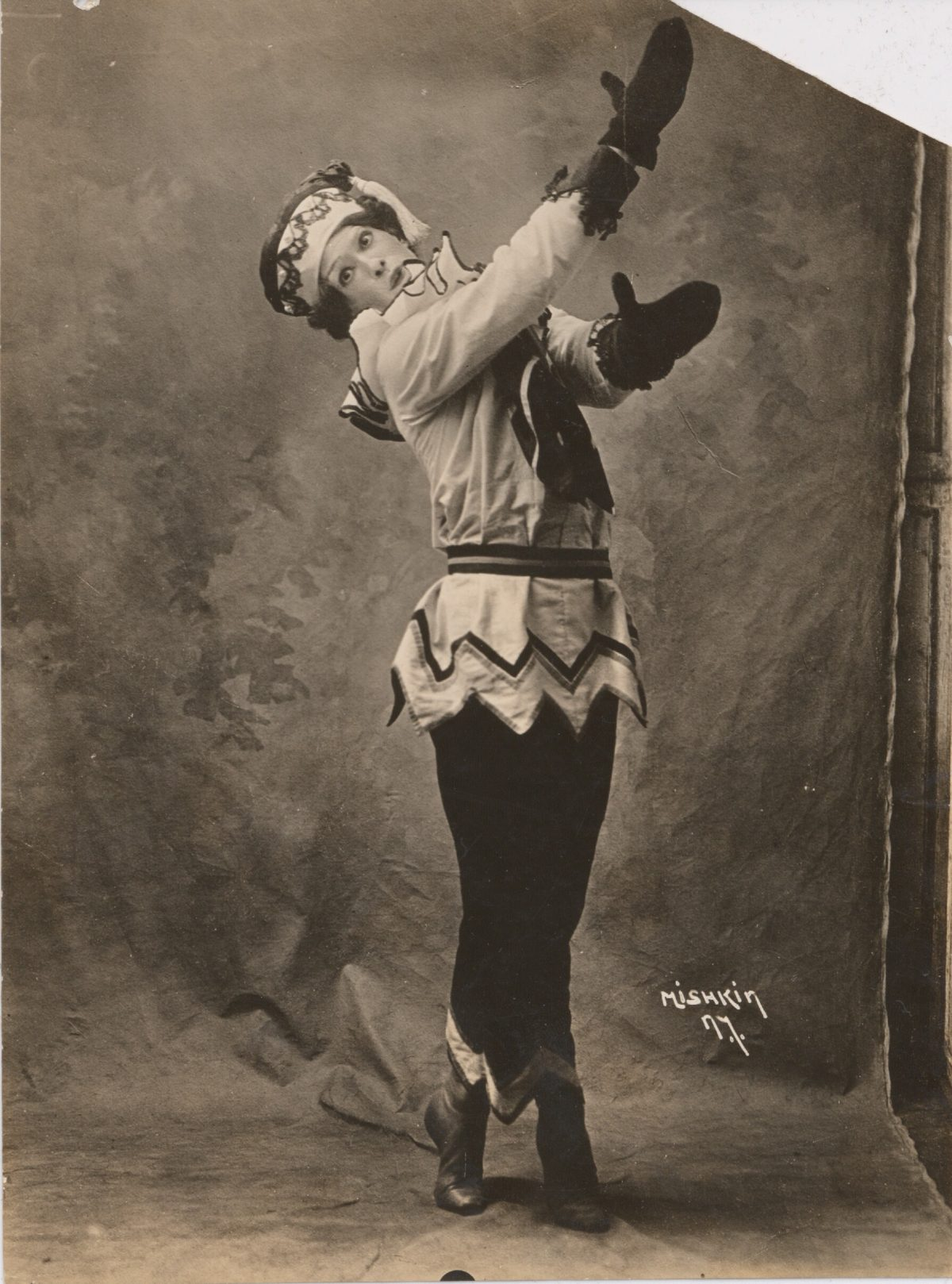 Vaslav Nijinsky in Petrushka, 1911