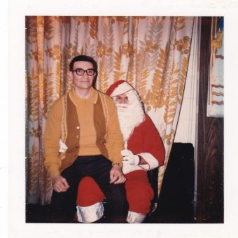 You Better Watch Out! Vintage Scary Santa Snapshots
