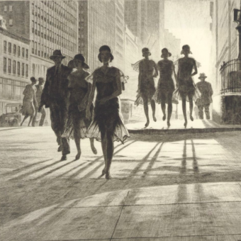 New York City by Martin Lewis – Edward Hopper's Mentor Captures America's Success And Failure
