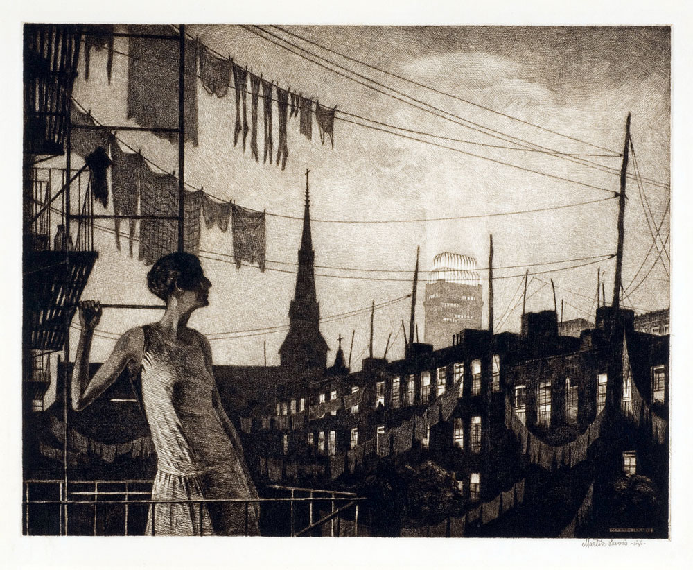 The Glow of the city 1929 martin lewis
